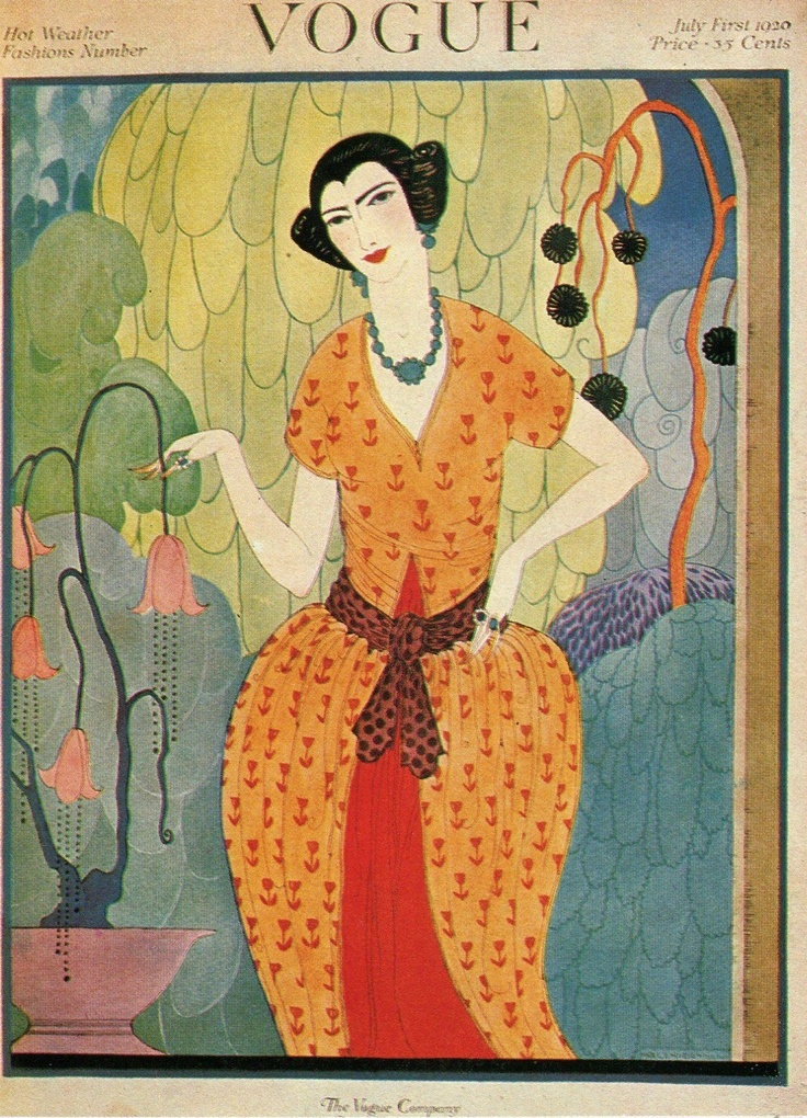 Vogue Covers 1910s De 10+ bästa id&#...