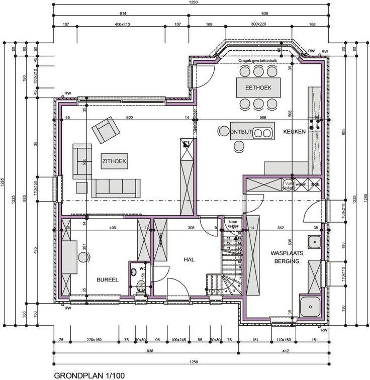 grondplan huis - Google zoeken
