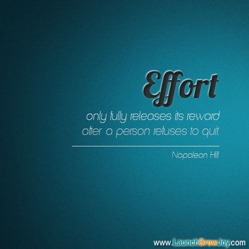 Be Great Quotes: Great Quote From Napoleon Hill