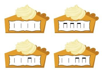 PICK A PIECE OF PIE RHYTHM GAME: TA AND TITI - TeachersPayTeachers.com