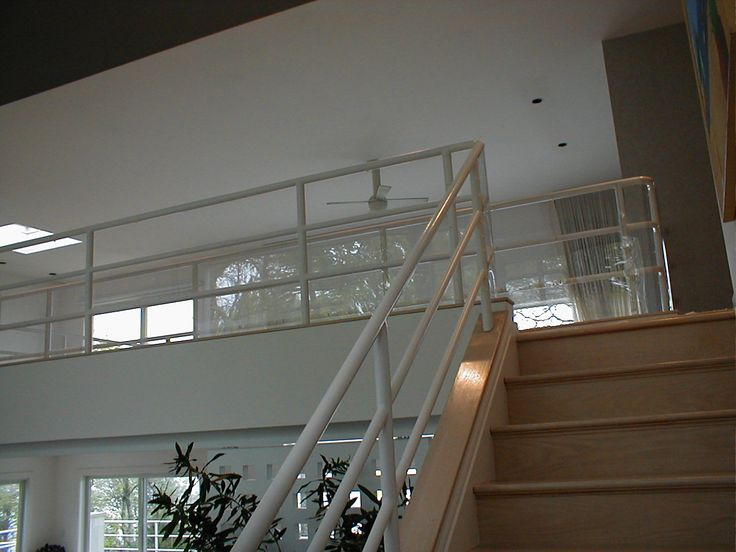 Plexi Glass Is Used To Protect Wide Gaps In Railings, On Balconies, And