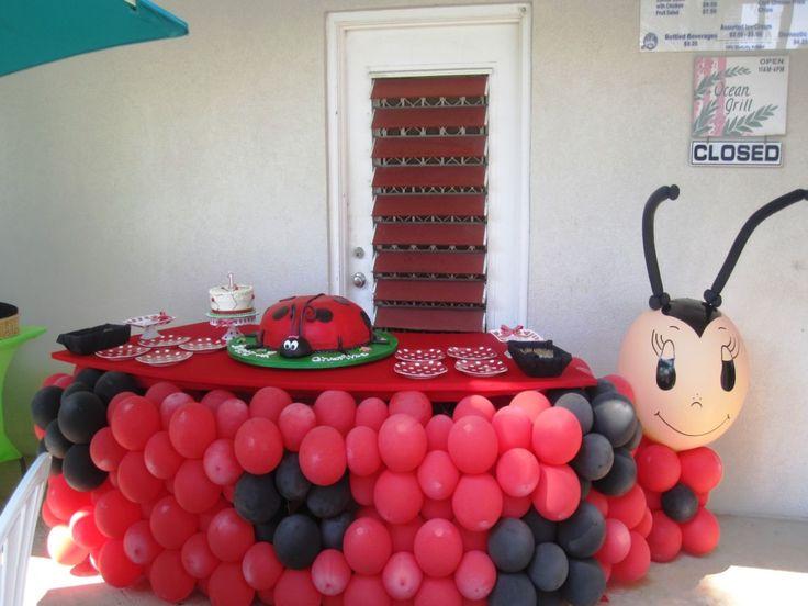 ladybug themed party Google Search ladybug party Pinterest
