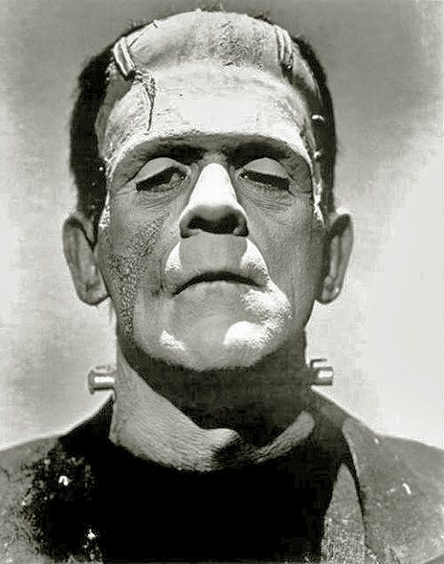 Boris Karloff, interpretando al engendro en los años 30.   El próximo año se cumplirán 200 años desde la publicación del quizás más oscur...