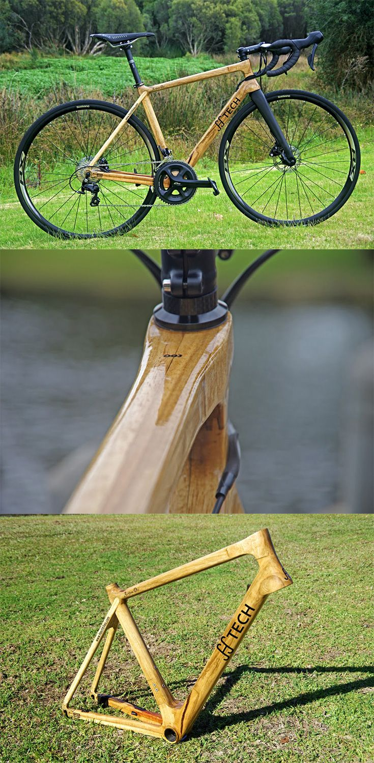HTech's 'Aeriform Disc' is a handcrafted endurance road bike designed with performance in mind, the beauty of a wooden bike remains unmatched, it features a compact frame designed to increase frame stiffness and provide a better handling... READ MORE at Yanko Design !