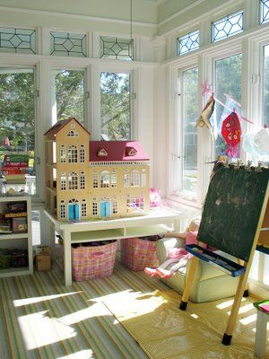 sunroom playroom- aaaahhhhh!