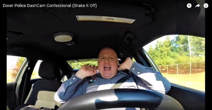 Funny Police Officer Has Gone Viral After He Forgot His DashCam Was Rolling