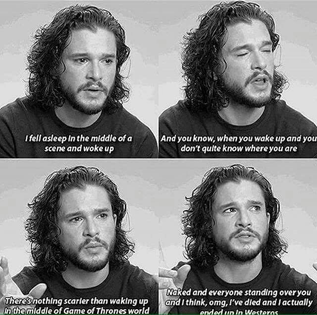 Doesn't everybody want that? Sleep and wake up in westeros? Well we'd probably die pretty fast but I'd be worth it ;-)