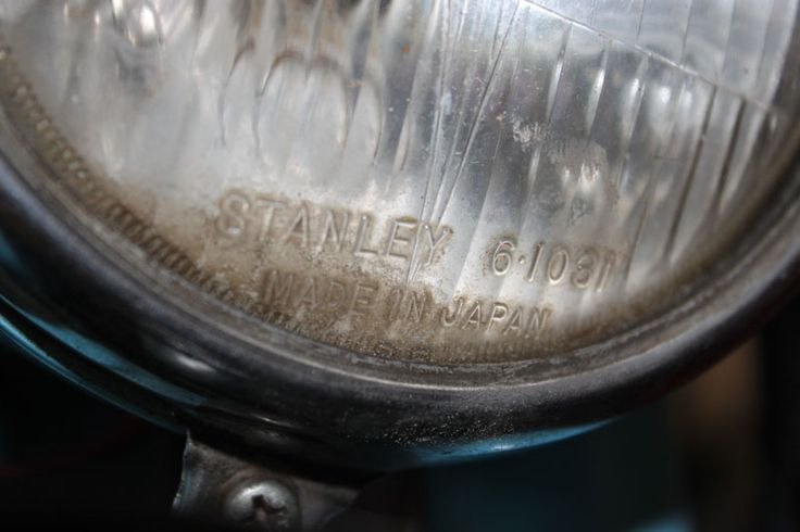 Stanley is sign for honda's original head lamp