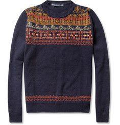 Monsieur Lacenaire Henri Fair Isle Wool Sweater+ +MR PORTER