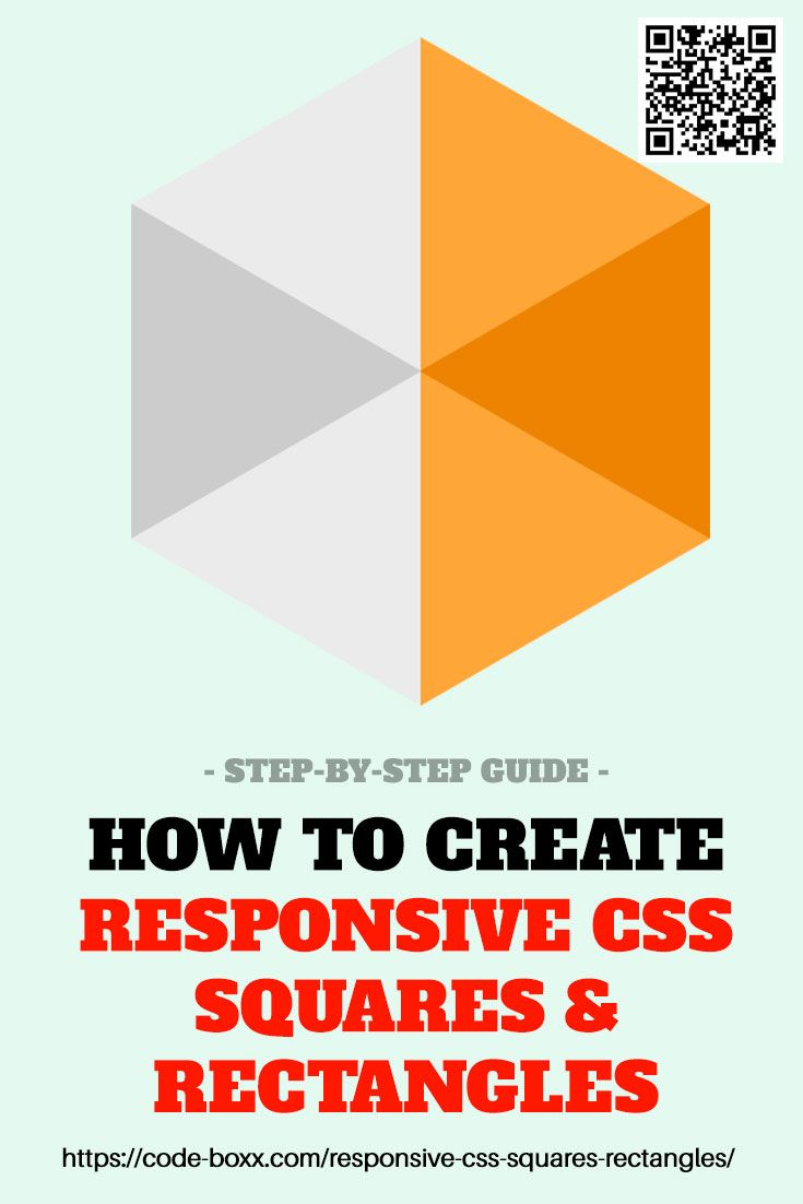 How To Create Responsive Css Squares And Rectangles Web Development Programming Coding Web Design Programs