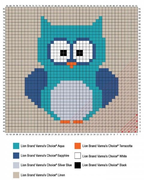 Crochet an Adorable Corner To Corner (C2C) Owl Baby Blanket! With Step-by-Step Images to Get Started