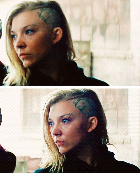 Natalie as Cressida in the new 'Mockingjay: Part 1' trailer