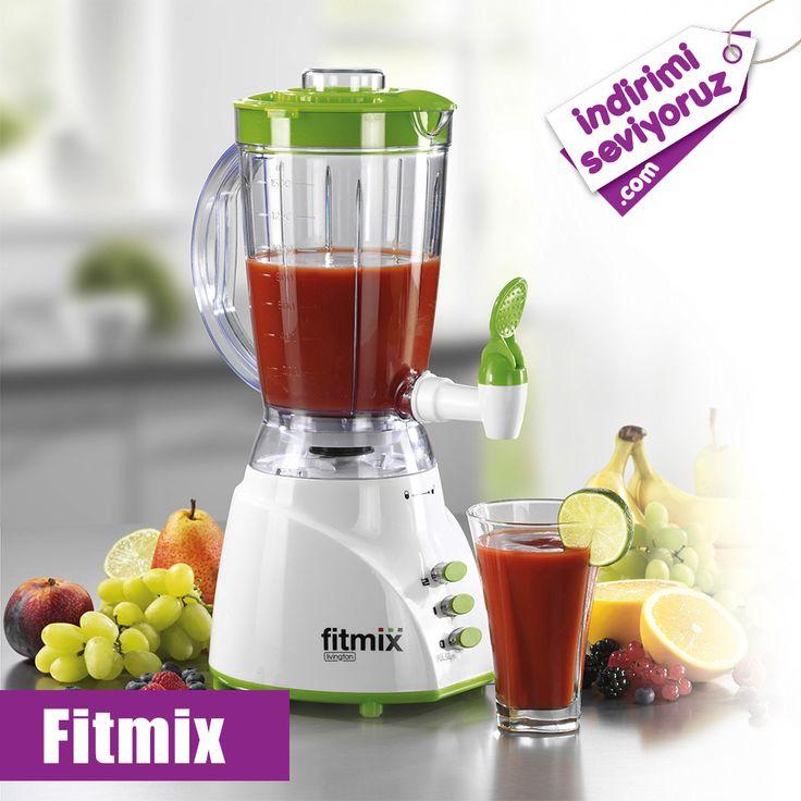 Hızlı, lezzetli ve sağlıklı içecekler hazırlayabileceğiniz mükemmel ürün, Fitmix!! #indirimiseviyoruz #indirim #Fitmix