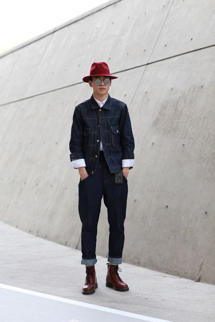 2015 F/W 서울 패션위크 스트릿 패션 NO.2 : 네이버 블로그