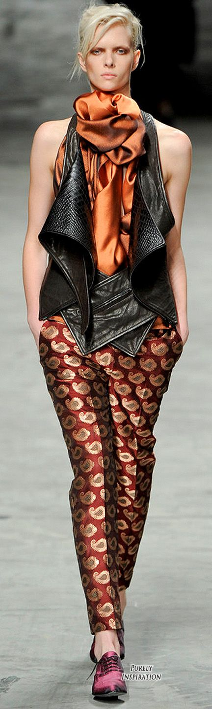 Haider Ackermann SS2012 Women's Fashion RTW | Purely Inspiration