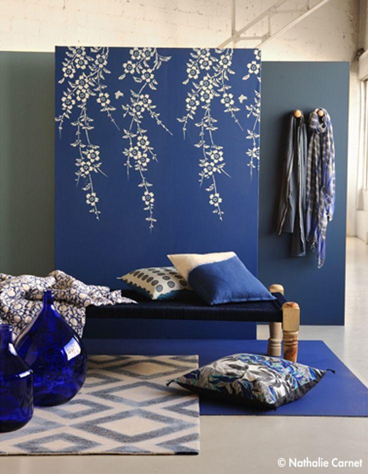 Les 25 meilleures id es concernant couvre lit bleu sur for Caravane chambre 19 soldes