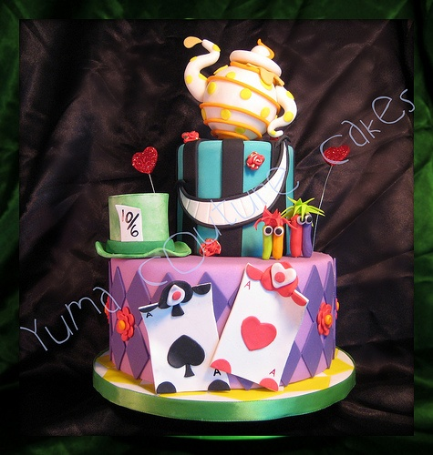 17 Best Images About Alice In Wonderland Cake Ideas On