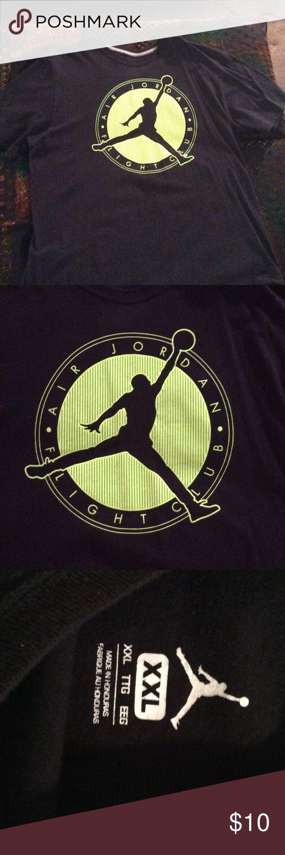 Air Jordan Flight Club Tee Shirt Worn once. Excellent Condition. Bundle with a pair of Jordan's!! Jordan Shirts Tees - Short Sleeve