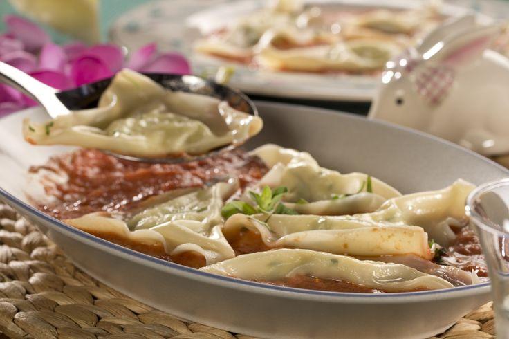 Homemade Crab Ravioli | MrFood.com                                                                                                                                                                                 More