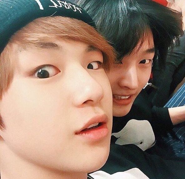 Daniel and Jisung