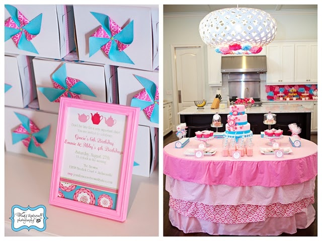 Not one thing wasn't decorated!  Look at the backdrop in the corner!>> @Mandy Landrum, this looks right up your alley!