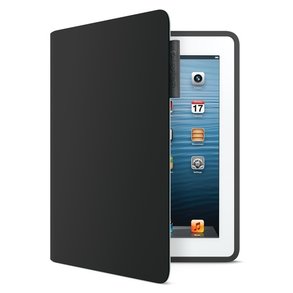 On-the-go protection for iPad® that makes a stylish impression. Logitech Folio in Carbon Black ($69.99)