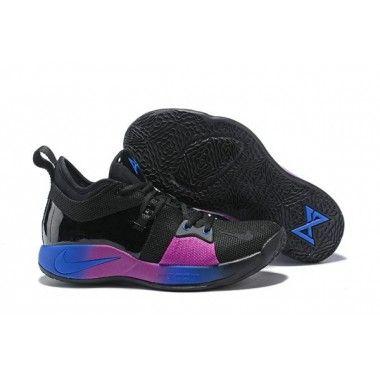 34226994170 Nike PG 2 Men s Black Deep Royal Blue-Hyper Violet