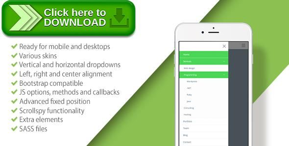[ThemeForest]Free nulled download DROP | Responsive Dropdown Navigation from http://zippyfile.download/f.php?id=42146 Tags: ecommerce, bootstrap navigation, CSS Navigation, dropdown navigation, fixed menu, jquery menu, menu, mobile menu, mobile navigation, navigation, offcanvas, offcanvas menu, offcanvas navigation, responsive menu, responsive navigation, scrollspy