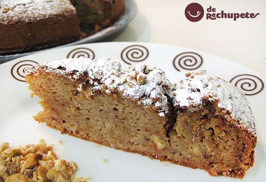"Receta de tarta de castañas ""Magostos"" - Recetasderechupete.com"