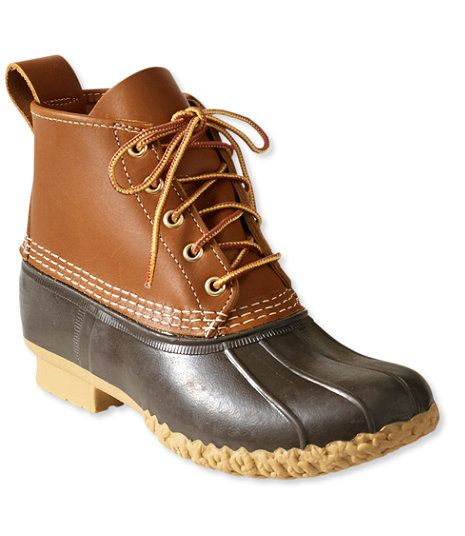 """Women's L.L.Bean Boots, 6"""" - size 7 medium. I like Sperry brand too (they cost a little less)!"""