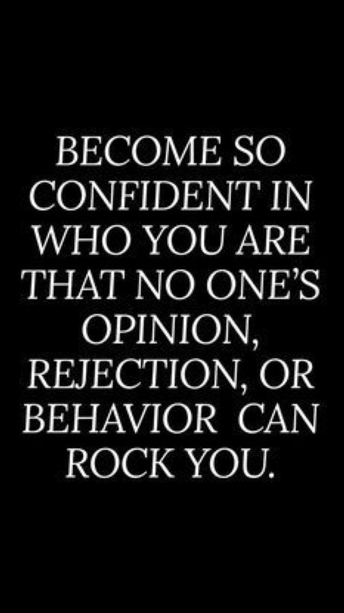 CONFIDENCE IS KEY.