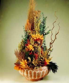 M s de 1000 ideas sobre flores secas en pinterest flores - Decoracion con flores secas ...