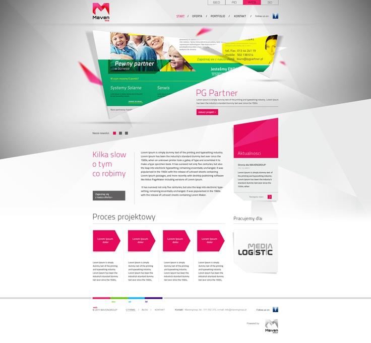 Maven web design.