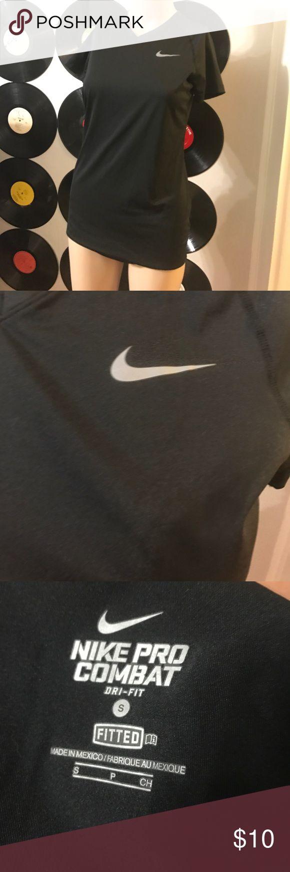 Nike pro combat dri fit small black Nike pro combat dri fit small black. Clean smoke free home 🏡 please make a reasonable offer. Nike Tops Tees - Short Sleeve