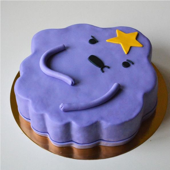 "LSP looking sassy as ever. | 17 Adventure Time Cakes That Will Make You Say ""Oh My Glob"""