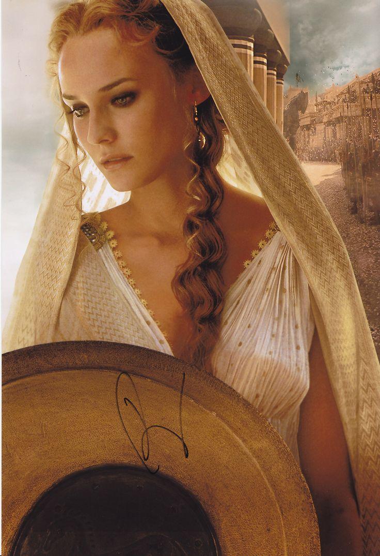 Diane Kruger as Helen of Troy. Troy (2004)