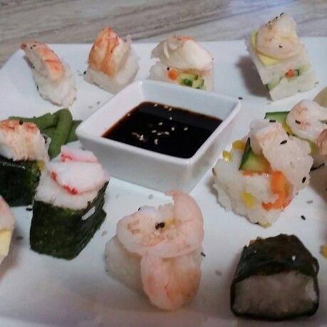 Homemade #sushi #ricecube #collingwood_foodie