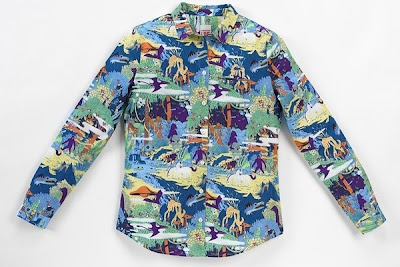 Lacoste L!VE Printed Shirt