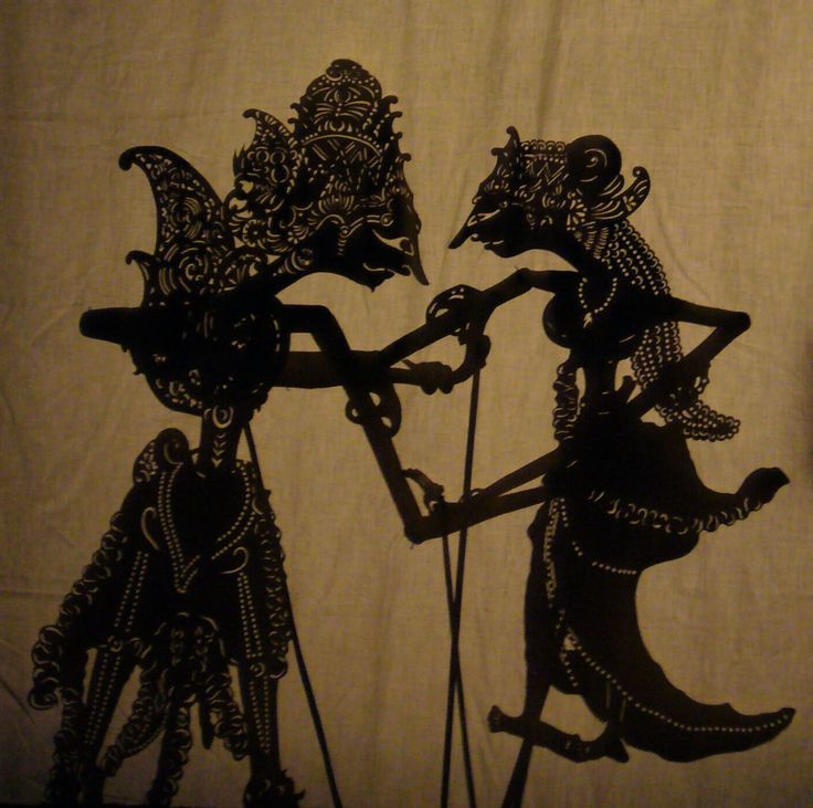 Wayang Kulit - Java Indonesia Marionette Shadow Puppets - Sumantri