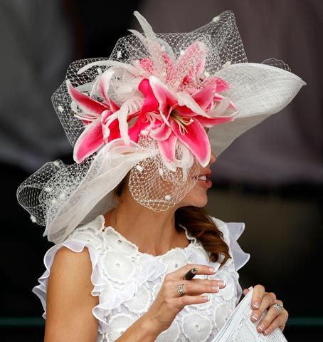 Oh my yes! Kentucky Derby hats