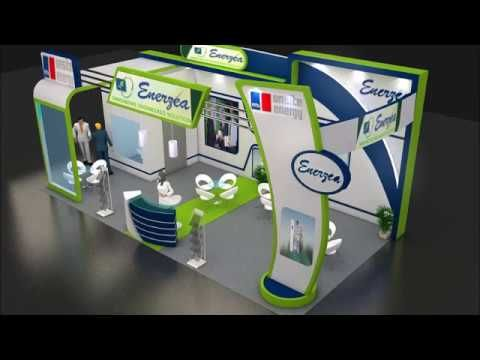 Dekorasi Stand Expo 3D Design 2017