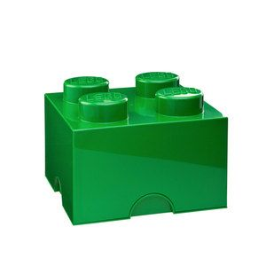 Storage Brick 4 Dark Green, $29.99, now featured on Fab.