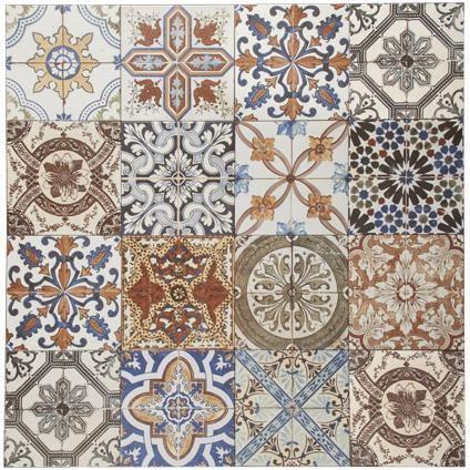 Wand- en vloertegel Nikea 20 x 20cm per 1m2 | Praxis Spatwand keuken, wc en boven wastafel.