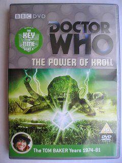 """""""The Power of Kroll"""" è la quinta avventura della sedicesima stagione, conosciuta con il titolo globale """"The Key to Time"""", trasmessa tra la fine del 1978 e l'inizio del 1979 con il Quarto Dottore e Romana. Segue """"The Androids of Tara"""" ed è un'avventura composta da quattro parti scritta da Robert Holmes e diretta da Norman Stewart. Immagine dall'edizione britannica del DVD. Clicca per leggere una recensione di quest'avventura!"""