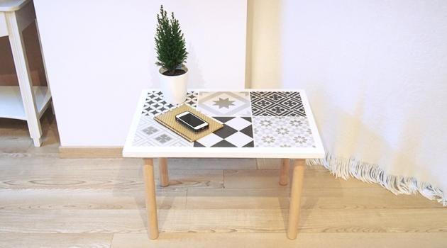 20 astuces brillantes pour bricoler une jolie table basse