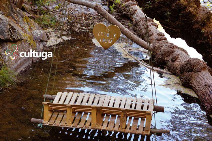 Balanço de madeira na Serra da Lousã. Portugal | Roteiro de viagem