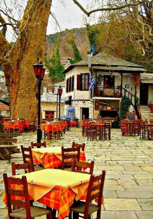 Visitsa, Pilion mountain, Greece