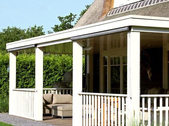 Overdekt terras landelijke villa building design architectuur overdekt terras pinterest - Eigentijds pergola design ...