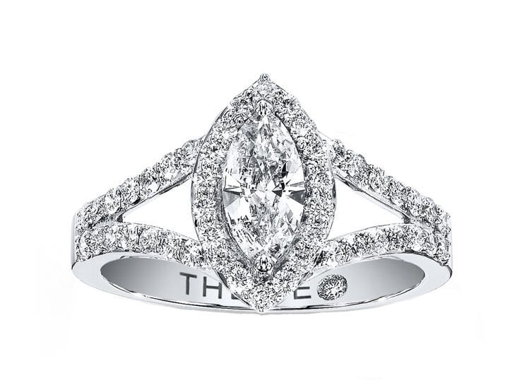 kay jewelers marquise engagement ring