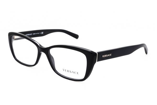Versace VE3201 GB1 Glasses Black | VisionDirect Australia